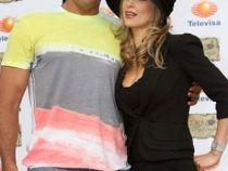 Aracely Arambula si Eduardo Yanez, impreuna in fata presei