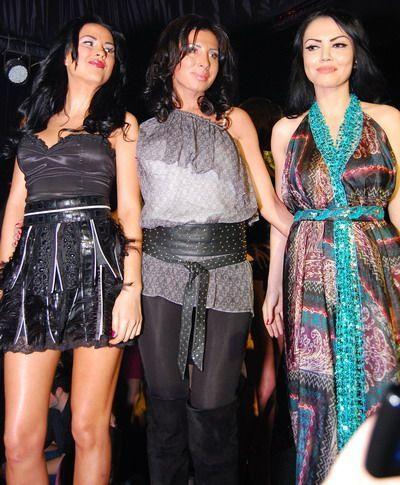 Andreea Mantea, Daniela Crudu si Adelina Varciu, sexy pe podium in tinute create de Roxana Butnaru! GALERIE FOTO