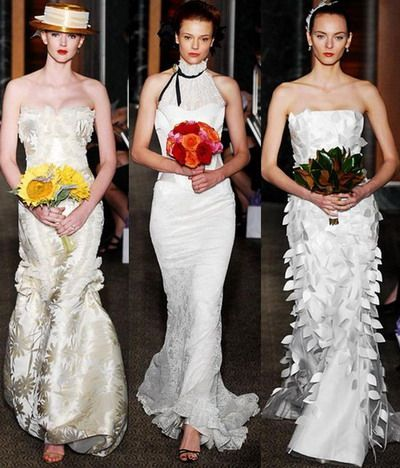 Uite ce modele de rochii de mireasa recomanda Carolina Herrera pentru ...