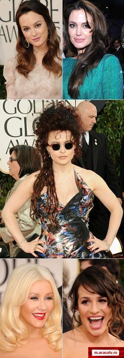 Cele mai urate coafuri de la Golden Globes 2011 – GALERIE FOTO