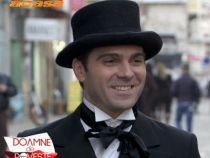 Dragos Stanescu il interpreteaza pe Eminescu pentru emisiunea Doamne de poveste