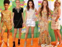 Cine s-a imbracat cel mai bine la Kids' Choice Awards?