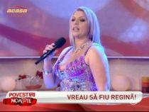 Nicoleta Guta si-a demonstrat talentul la cantat in studioul emisiunii, interpretand Sageata lui Cupidon !