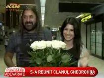 Gheorghe Gheorghiu s-a revazut cu fiica sa, Andra - VIDEO