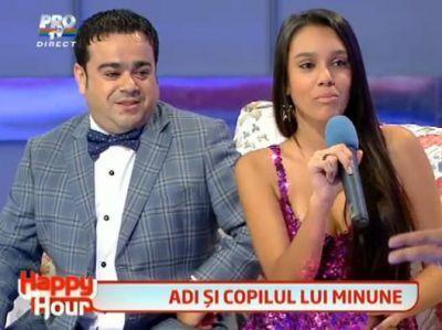 Adi Minune si-a adus fata de 13 ani in emisiunea lui Maruta! Ascult-o AICI cum canta: