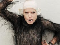 Incredibila transformare a lui Heidi Klum in maimuta - FOTO