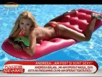 Andreea Balan: Sunt deranjata ca Dana Budeanu si Galatescu au spus ca la RMA am avut o aparitie nasoala! - VIDEO