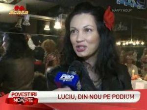 Nicoleta Luciu a slabit spectaculos si a avut deja prima ei defilare pe podium - VIDEO