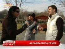 Jean de la Craiova s-a apucat de sport impreuna cu manechinul Raluca Dumitru - VIDEO