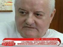 Atacuri intre fostul sot si actualul iubit. Irinel Columbeanu riposteaza la declaratile lui Mr Pink - VIDEO