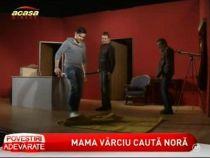 Liviu Varciu, Ioan Isaiu si Ionela Nedelea au jucat in comedia Menage a trois - VIDEO