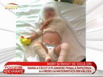 O mama sustine ca medicul i-a sugrumat copilul in timpul nasterii - VIDEO