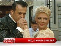 Teo Trandafir si sotul ei au facut o nunta altfel . Vezi cum a decurs sedinta foto - VIDEO
