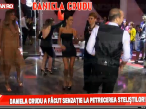Daniela Crudu a profitat de absenta lui Gigi Becali. Ce spectacol a facut pe ringul de dans