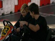 Madalina Anea si Paul Diaconescu traiesc senzatii de neuitat la cursele de karting