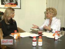 Monica Dascalu vorbeste despre frumusete si diete la Doctorul Casei