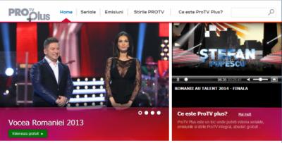 ProTV Plus, platforma video online cu continut gratuit