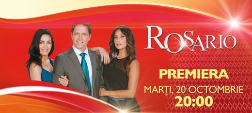 O poveste de dragoste atipica si o distributie de exceptie in noua telenovela Rosario . PREMIERA, marti, 20 octombrie, de la 20:00