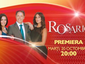Telenovela Rosario vine Acasa, incepand cu 20 octombrie, de la ora 20:00!