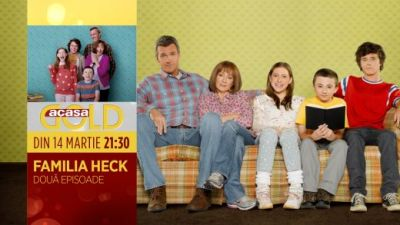 Familia Heck vine cu un nou sezon, din 14 martie, la GOLD!