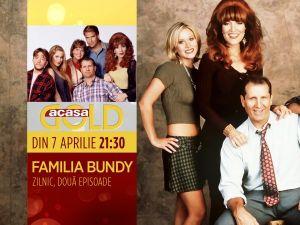 Familia Bundy, din 7 aprilie, la Acasa Gold, de la 21:30