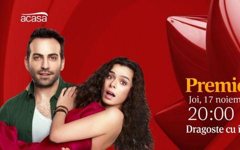 Acasa prezinta comedia romantica Dragoste cu imprumut! Din 17 noiembrie, de luni pana vineri, de la ora 20:00!
