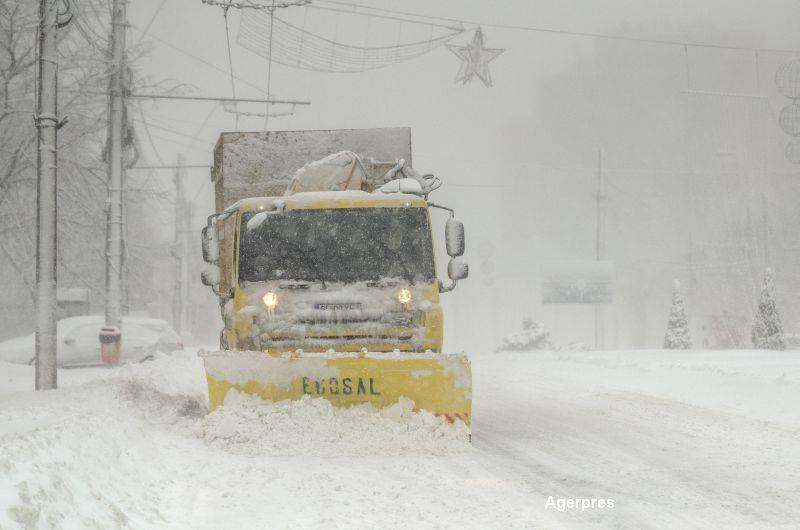 COD GALBEN de ninsori in 27 de judete. Zonele afectate ale Romaniei