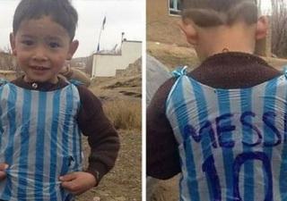 Anuntul trist facut de tatal baiatului care a devenit celebru dupa ce si-a facut tricou cu Messi dintr-o punga. Ce s-a intamplat cu el