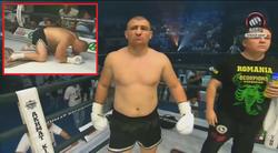 Morosanu a fost aseara in Cecenia si s-a batut pe ascuns! Si-a luat CEL MAI DUR KO din cariera in prima runda! VIDEO