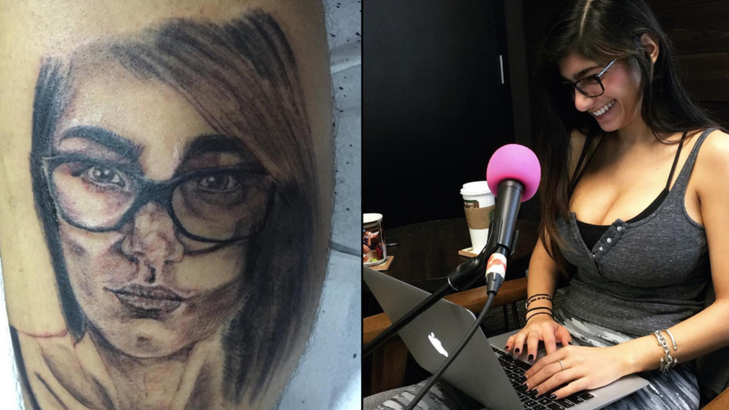 Un barbat si-a tatuat chipul unei starlete de filme XXX. Raspunsul acesteia l-a facut sa regrete amarnic. Ce i-a scris