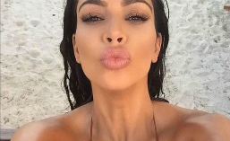Kim Kardashian, prima aparitie sexy dupa jaful din Paris. Cum i-a innebunit pe arabii din Dubai: FOTO