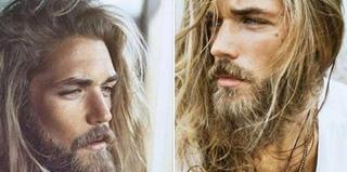 """Cel mai celebru model cu barba s-a ras. Cat de radicala este transformarea pentru """"Brad Pitt"""" al Suediei"""