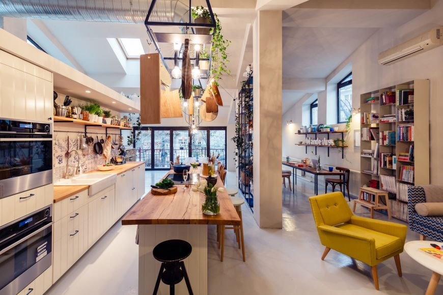 Mazilique Studio, primul  open kitchen  din Bucuresti
