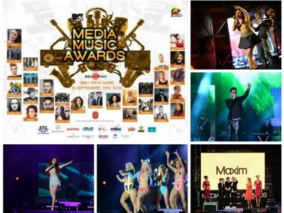 Cele mai tari momente de la Media Music Awards 2014. Cantaretii romani au facut super show la Sibiu - VIDEO