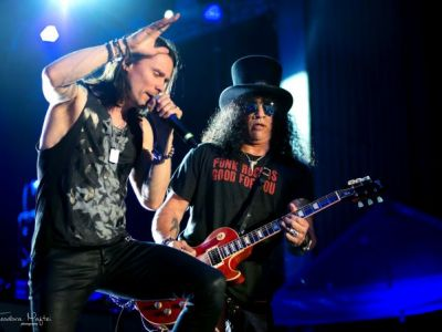 Slash  Myles Kennedy la Bucuresti ndash; Un concert care a pus romanii pe jar
