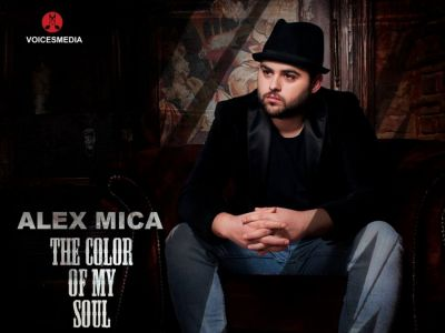 Alex Mica revine in forta cu melodia The color of my soul