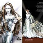 FOTO Vezi cum va arata rochia de mireasa a Bellei in Twilight!