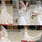 Ce actrita a inspirat rochia de mireasa a lui Kate Middleton!