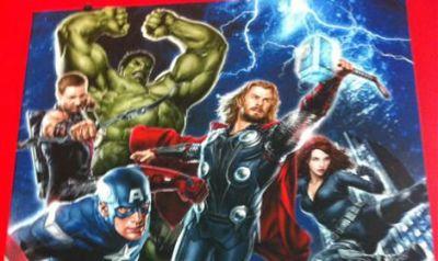 Primul poster cu eroii Marvel din  The Avengers  a fost lansat
