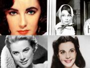 Celebrii ochi violeti ai Hollywood-ului de altadata. 5 actrite care au cucerit cu privirea lor generatii intregi