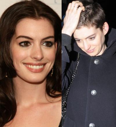 Anne Hathaway a renuntat la par pentru rolul din Mizerabilii. Uite cum s-a transformat actrita