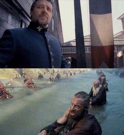 Filmul musical care rupe toate regulile: de ce e Mizerabilii cu Hugh Jackman si Russell Crowe cel mai indraznet musical facut vreodata