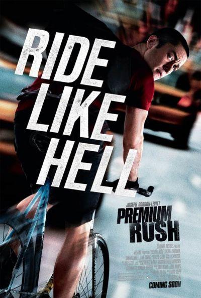Premium Rush: smecherii pe burta goala