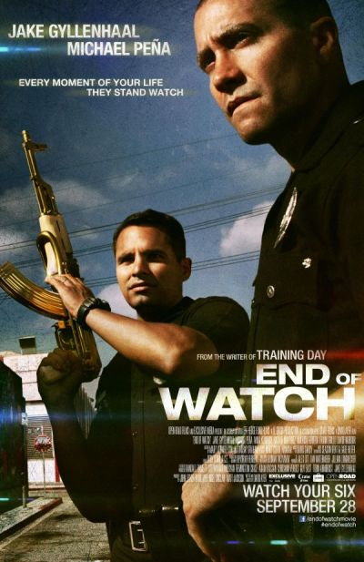 End of Watch: fratia albastra