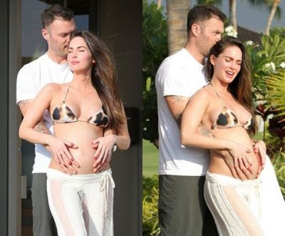 Megan Fox, asa cum nu ai mai vazut-o niciodata: actrita a nascut un baietel