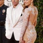 Globurile de Aur 2013: Jennifer Lopez nu a lasat nimic imaginatiei pe covorul rosu, cele mai sexy aparitii
