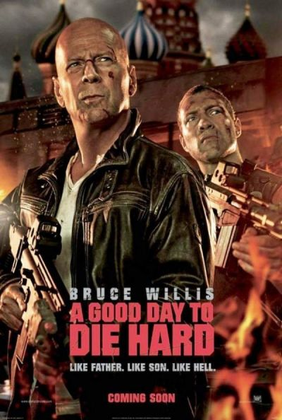 Premiere la cinema: Bruce Willis e si mai greu de ucis in A Good Day to Die Hard