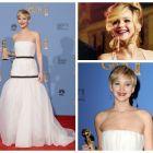 Jennifer Lawrence a castigat cel de-al doilea trofeu consecutiv la Globurile de Aur. Cum a impresionat in American Hustle actrita care are doar 23 de ani