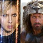 Scarlett Johansson l-a batut pe Dwayne Johnson in box-office: filmul Lucy l-a depasit pe Hercules si este cel mai urmarit film al momentului in SUA