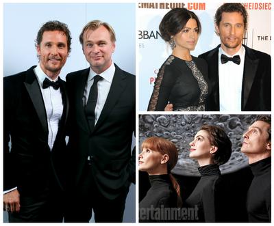 "Matthew McConaughey, onorat de Hollywood, alaturi de Christopher Nolan: ""Nu am vazut un actor mai dornic ca el sa gaseasca si tr"